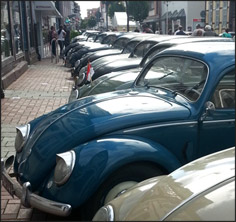 Rows and rows of classic Wolfsburg tin - gorgeous