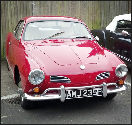 1968 1500cc Semi Automatic Karmann Ghia Coupe